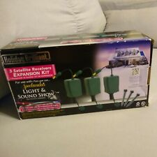 NEW Holiday Brilliant Lights 3 Satellite Receiver Expansion Kit