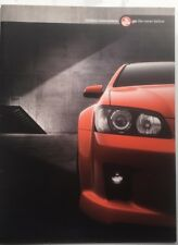 Holden Commodore VE 36 page Brochure