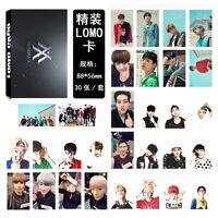 30pcs/set Kpop Monsta X Collective Photo Card Lomo Card Poster Bookmark