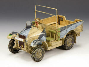 King & Country Soldiers EA062 World War II Morris CS8 British 15cwt Truck