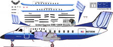 United Express EMB 120 Pointerdog7 decals for Welsh 1/144 kit