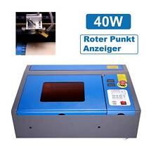 40W CO2 Laser Graviermaschine Gravierfräsmaschine laser Cutting Engraving 4 Rad