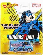 COMBAT MEDIC The Black Widow - MARVEL - 2016 Hot Wheels Pop Culture C Case