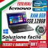 "PC NOTEBOOK LENOVO THINKPAD T450S 14"" CPU i5 8GB RAM SSD 128 WIN10 PRO BRT_24H"