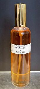 "RARE VINTAGE FORMULA GUERLAIN ""METALLICA"" 3.1 FL OZ. 93ML EDT PERFUME SPRAY"