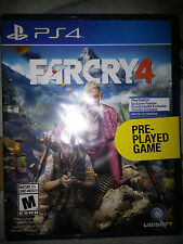 PS4 Far Cry 4 Game |USED LIGHTLY, SEALED Playstation 4 Farcry