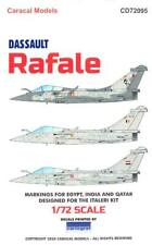 Caracal Decals 1/72 DASSAULT RAFALE French Jet Fighter in Foreign Service