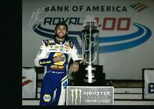 NASCAR SUPERSTAR CHASE ELLIOTT  AUTOGRAPHED 8X10 PHOTO W/ COA