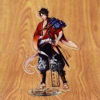 BANDAI Toukenranbu Heshikiri Hasebe 2in mini toy key chain key ring Limited 15