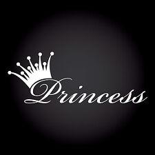 Princess Auto Aufkleber Sticker Decal JDM OEM DUB Style Prinzessin 20,0 x 7,4 cm