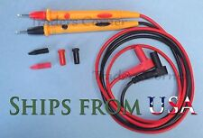"Quality Replacement Test Leads/Probes for Fluke & Other Multimeters 42"" Long"
