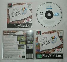 EURO 2000 Sony PlayStation ps1 psx pal gioco game EA sports prima stampa