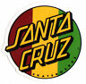 Santa Cruz Rasta Skateboard Sticker - skate board skating skateboarding sk8 new