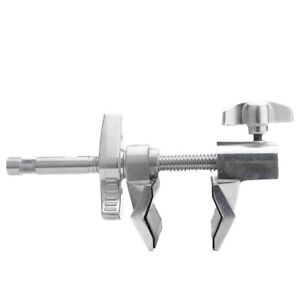 End Jaw 200mm Super Viser Clamp with 5/8 Pin & Hex Receiver Socket
