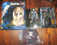 NECA Friday 13th Horror Jason Voorhees Part 7 Action Figure & Rug MIB $89