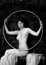 Antique Art Deco French Naked Lady Pin Up Risque Erotic Semi Nude Reprint Photo