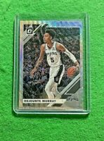 DEJOUNTE MURRAY PRIZM SILVER WAVE CARD SPURS 2019-20 DONRUSS OPTIC BASKETBALL