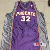 Mens JASON KIDD PHOENIX #32 Sz 52 2XL SUNS NBA JERSEY CHAMPION SEWN PURPLE