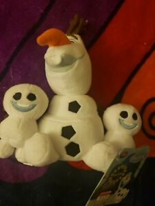 Disney Frozen Olaf Bundle Plushies