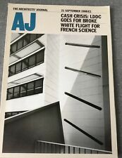 Architects Journal 21 Sep 88 Next Enderby French New Town Sheringham Pool Stairs