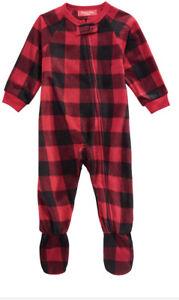 Family Pajamas Kids  Buffalo Chck Pajama Size 4-5
