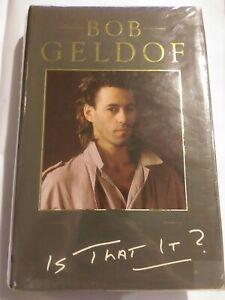 Is That It Bob Geldof Hardcover 1986