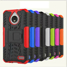 New Dual Layer Shockproof Rugged Hybrid Stand Hard Case Cover For Smart Phones