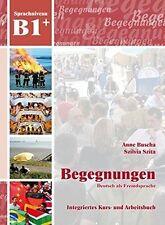 Begegnungen: Kurs- Und Arbeitsbuch B1+ MIT 2 Cds by Schubert Verlag (Mixed media product, 2013)