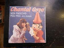 Chantal Goya :  mon pinocchio - piou piou, petit poussin - RCA 61288