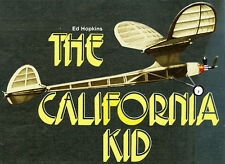 "Model Airplane Plans (FF): California Kid 33½"" for .020 (plans and article)"