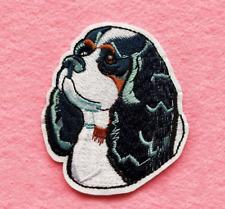 Cocker Spaniel Iron-On Patch : American English Dog Puppy Pet: Embroidered Badge