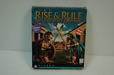 Computer PC THE RISE & RULE OF ANCIENT EMPIRES Complete in Box