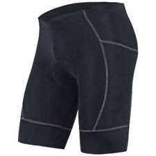 Black Men's Shorts Pro Bike Half Pants Gel Padded Bicycle Clothing Tights US S