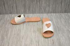**N.Y.L.A Heart Slide Sandal - Women's Size 9, Silver