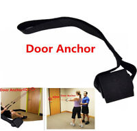 New Advanced Door Anchor Accessories for Resistance Bands & Tubes Exercis Black