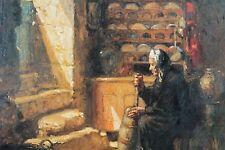 carte postale bretonne illustrateur art peinture XIXème huile Bretagne Lot de 6