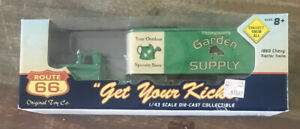 Route 66 ~ 1960 CHEVY Tractor Trailer  THOMPSON'S GARDEN SUPPLY  1:43 MIB