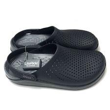 Crocs Literide Men's Clog 204592-0DD Black Slate Grey SIZE 11 NEW