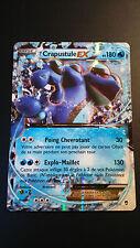 Carte Pokemon CRAPUSTULE 20/111 Holo EX Française NEUVE