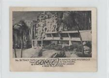 1966 Somportex Thunderbirds Small #28 Tracy Family Living Quarters Card 0s4