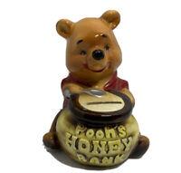 Vtg Walt Disney Prod Winnie The Pooh Honey Pot Coin Bank Japan