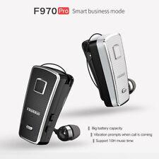 Wireless Clip Bluetooth Headset Retractable Business Sport Earphone F970 PRO