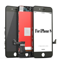 For Apple iPhone 8 Black LCD Display Touch Screen Digitizer Assembly Replacement