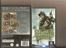 MEDAL OF HONOR FRONTLINE NINTENDO GAMECUBE / WII 1ST PERSON SHOOTER