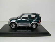 MITSUBISHI 3rd PAJERO ( Montero ) Short  Green/Silver  1:43 M4/MTECH USED