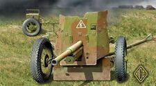 ACE 72242 1/72 Plastic WWII Soviet 45mm Anti-tank Gun Model 1937
