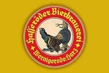 Blechschild - HASSERÖDER BIERBRAUEREI WERNIGERODE / HARZ  20x30 cm 23080
