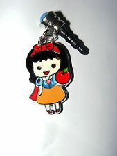 Little snow white red apple phone charm plug anti-dust 3.5mm iphone 4 4s & more