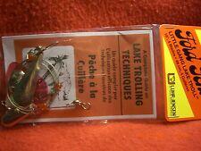 Luhr Jensen 3030-000-0001 Ford Fender Little Gang Lake Troll Smooth Nickel