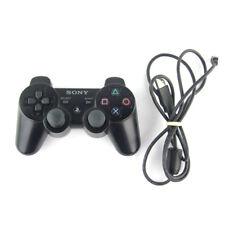 SONY OFFICIEL PS3 SANS FIL DUALSHOCK CONTRÔLEUR NOIR+ USB